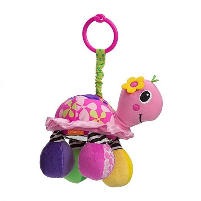 Mobile Com Espelho Tartaruga Arco Iris - Infantino