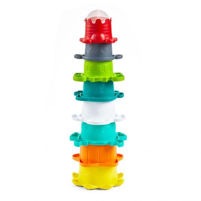 Brinquedo De Encaixe Interativo  - Infantino EMPILHAR INTERATIVO  3313