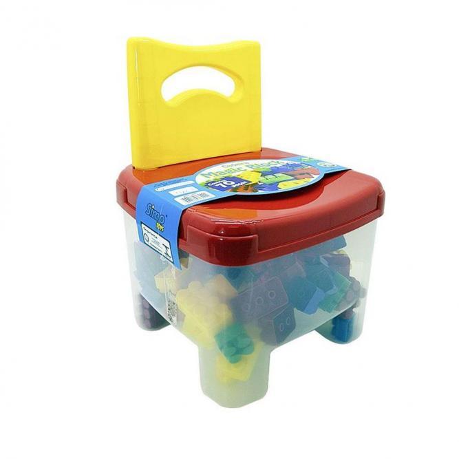 Cadeira Magic Block - Simo Toys COLORIDO  R090