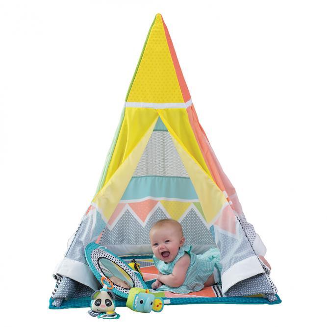 Cabana Infantil Multifuncional - Infantino COLORIDO  3550