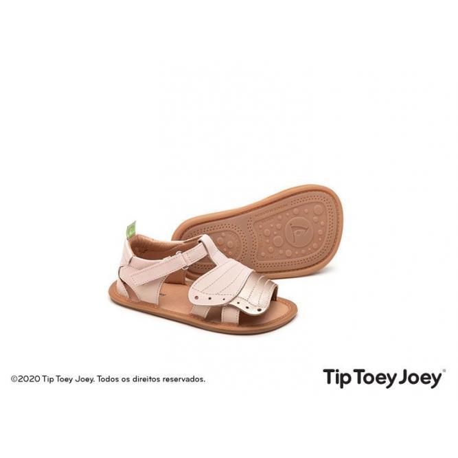 SandáLia Flitty Cotton Candy/Metalic - Tamanho 20 - Tip Toey Joey