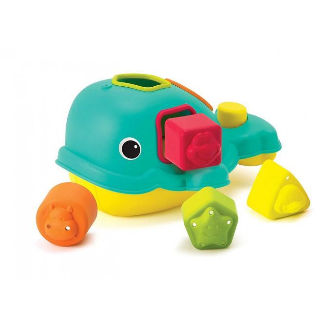Brinquedo De Encaixe Interativo  - Infantino BALEIA  3286
