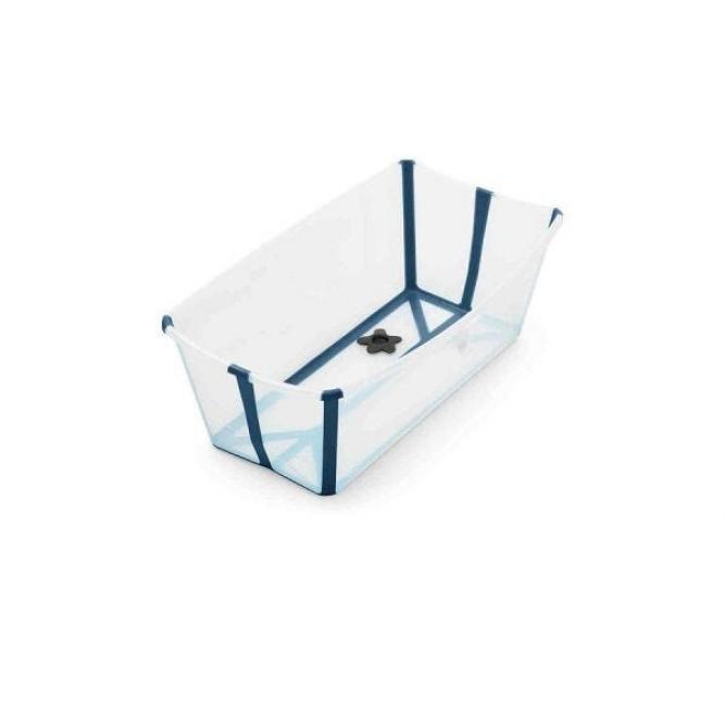Banheira Flexivel Plug Termico Stokke Azul  W531904