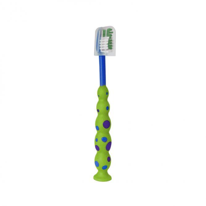 Escova Dente Infantil Macia - Baby Bath  VERDE/MARINHO  B21320