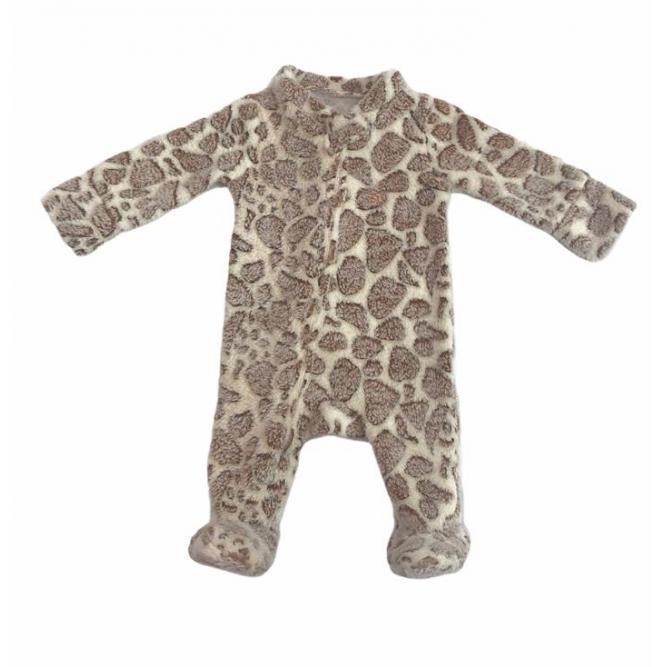 Macacão Fleece - Welpie  Girafa 6M MF0256M