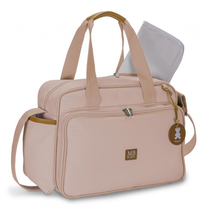 Bolsa Passeio - Masterbag ROSE QUADRICULADA 28X21X10CM 51MBQ377