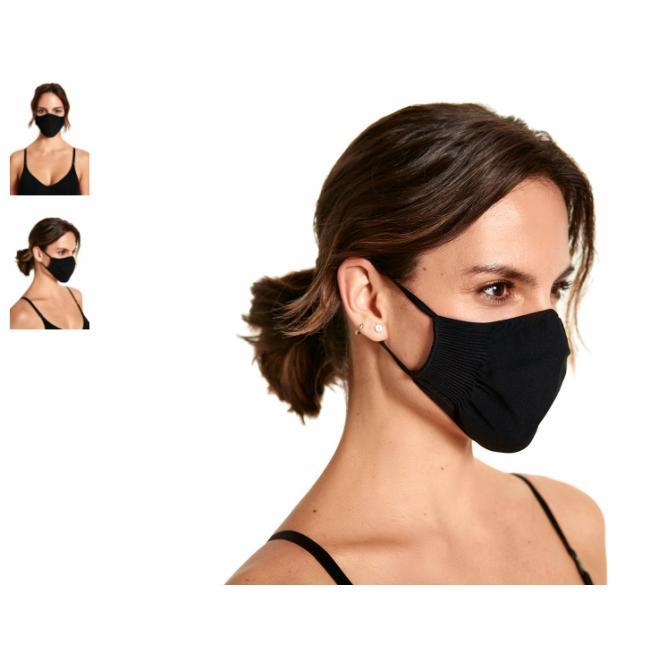 Mascara Proteção Facial Antiviral - Plie Preto Unico 050907
