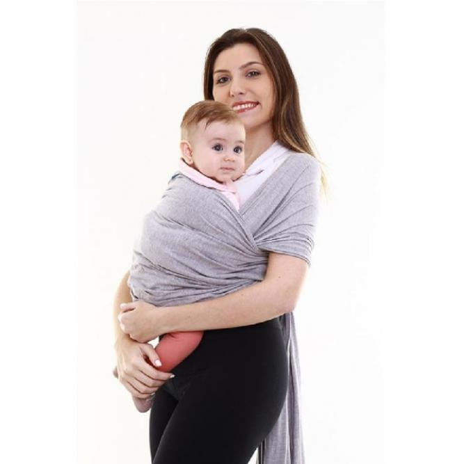 Sling Wrap - Kababy CINZA MESCLA 1,5A16KG 17900C