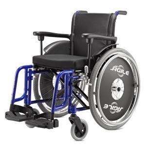 Cadeira Rodas Agile Jaguaribe 44 AZUL METALICO