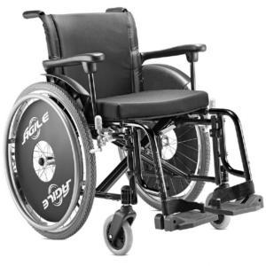 Cadeira Rodas Agile Jaguaribe 44 PRETO