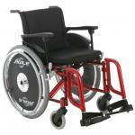 Cadeira Rodas Agile Jaguaribe 44 VERMELHO METALICO