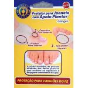 Protetor Joanete  Apoio Plantar Sg111 Ortho Pauher   SG111