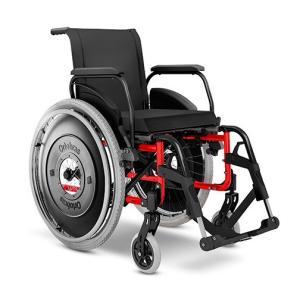 Cadeira Rodas Avd Alu Pernas Elevadas Ortobras