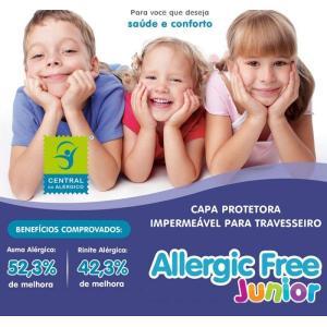 (F)Capa Travesseiro Infantil Alg/Pvc 30x40 Alergic Free   7627