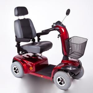 Cadeira De Rodas Motorizada Quadriciclo Scooter Scott Ottobock  45,5 VERMELHO