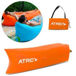 (F)Assento Inflavel Chill Bag Laranja Atrio   ES140
