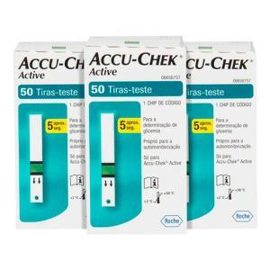 Tiras Para Glicemia 150 Unidades Accu Chek Active1