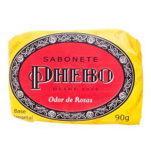 Sabonete Phebo Odor De Rosas  90 Gramas Granado