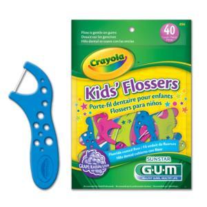 Fio Dental 40 Unidades Crayola Kids Gum    896RZ