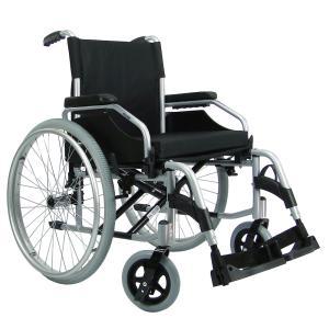 Cadeira Rodas Munique Aluminio Aro 24 Praxis 46 PRETO