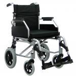 Cadeira Rodas Barcelona Aluminio Aro 12 Praxis 40 PRETO