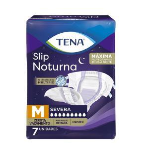 Fralda Tena Slip Noturna 7 Unidades Unissex M BRANCO 011900505