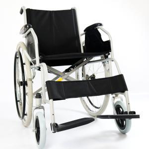Cadeira Rodas D100 Aço Dellamed  44 PRETO