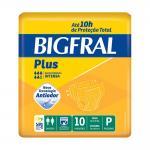 Fralda Bigfral Plus Pequena 10 Unidades