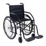 Cadeira Rodas 102 Raiada Pneus Inflaveis Cds UNICO PRETO