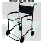 Cadeira Banho 201 Semi-Obeso Preta Aco Cds
